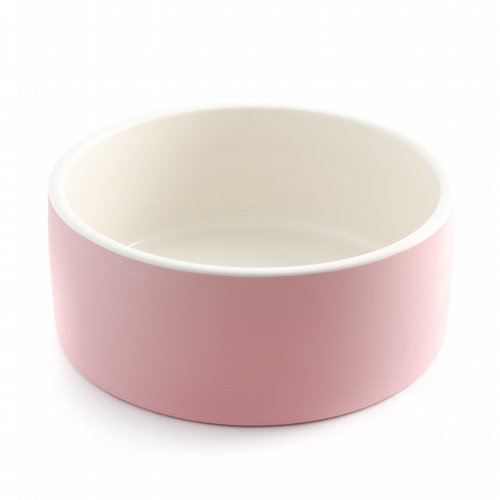 Self-Cooling Food & Water Pet Bowl - Pink - Medium